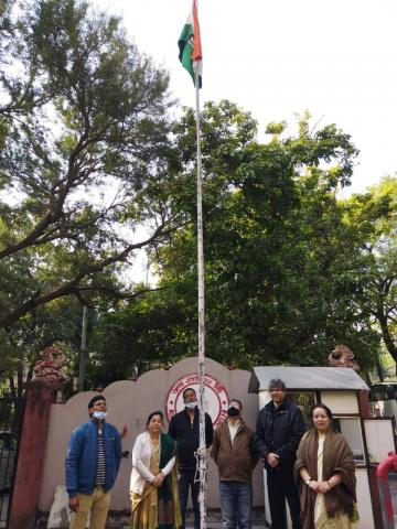 Republic Day Celebrated by Assam Association Delhi
