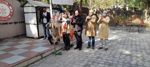 Me-Dam-Me-Phi celebration at New Delhi