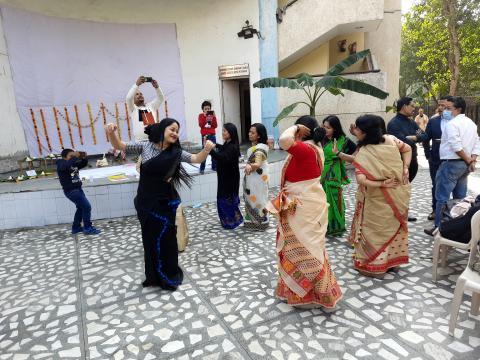 Me-Dam-Me-Phi celebration at New Delhi  Dibyojit Dutta