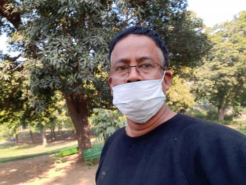 Dibyojit Dutta at Nehru Park