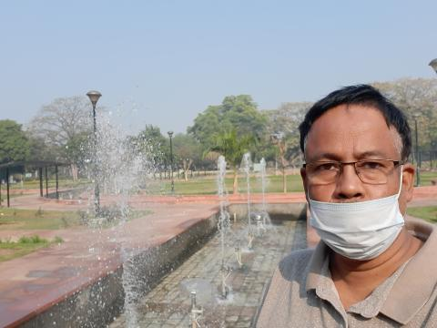 Dibyojit Dutta at  Rose Garden
