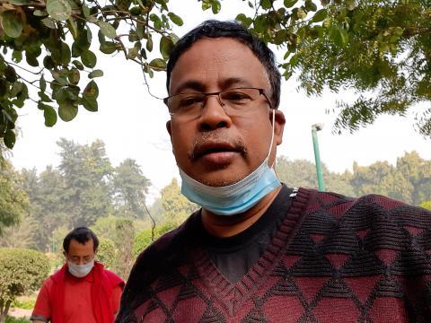 Dibyojit Dutta at  Lodhi Garden