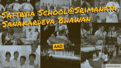 Sattryia School,  Srimanata Sankardeva Bhawan, Assam association,  Delhi