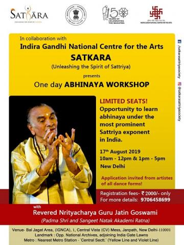 Satkara-Unleashing the Spirit of Sattriya in collaboration with IGNCA