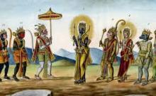 ৰামায়ণী বচন, প্ৰবাদ,  যোজনা